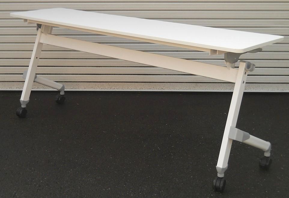 わけあり アウトレット(訳あり)サイドスタックテーブルJTN-1845型 天板:ホワイト色【送料無料】