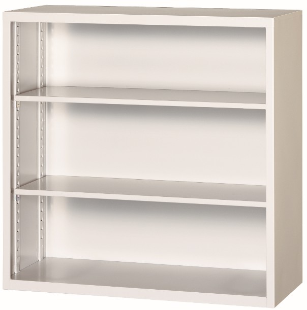 【わけあり アウトレット(訳あり)】オープン書庫W880,D400,H880ミリホワイト色【送料無料】