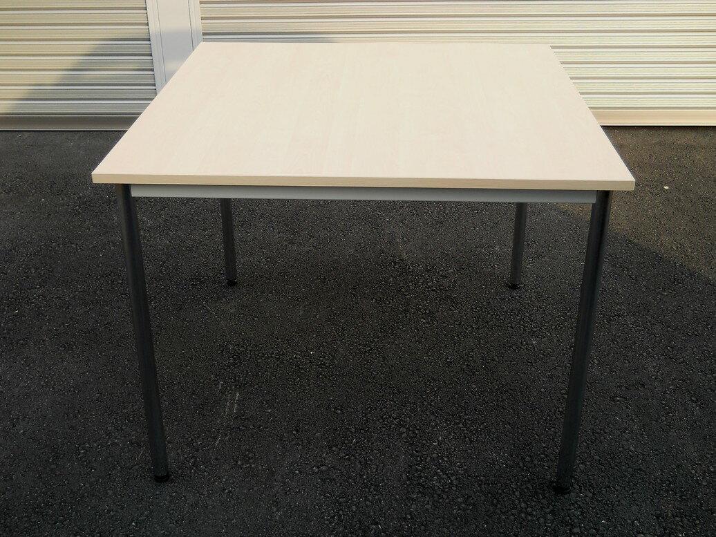 わけあり アウトレット(訳あり) ミーティングテーブルST11-0909MSW900,D900,H700ミリ 【送料無料】