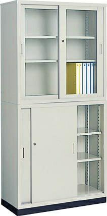 Kokuyo co., Ltd. (KOKUYO) steel Vault (steel stacks) top and bottom set (w/base) W880×D 400 mm S-335 set S-335GF 1 N + s-335F1N+S-314BF4