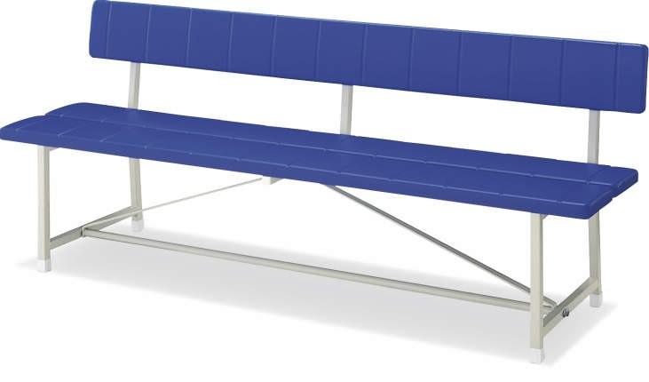 【在庫処分品・新品】 コクヨ 公共施設用屋外ベンチ 背付きW1505ミリ 【送料無料】