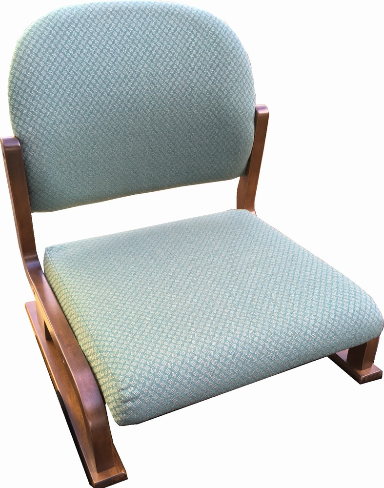 【在庫処分品・新品】コクヨ 高齢者施設・在宅用家具座イス・座椅子 肘無し(カバーを外して水洗いできます)