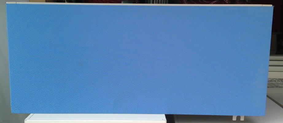 コクヨ BSデスク用 【サイドタイプ】デスクトップパネルD800,H330ミリ ブルー【中古】 【送料無料】