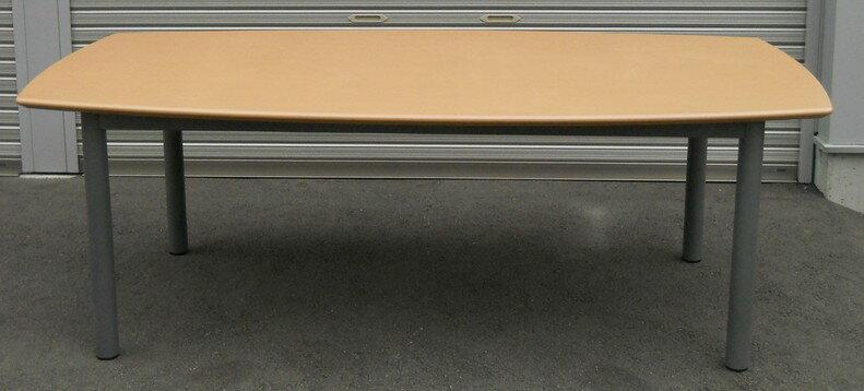 中古品 会議テーブルW2100,D1050(850),H700ミリ【中古】