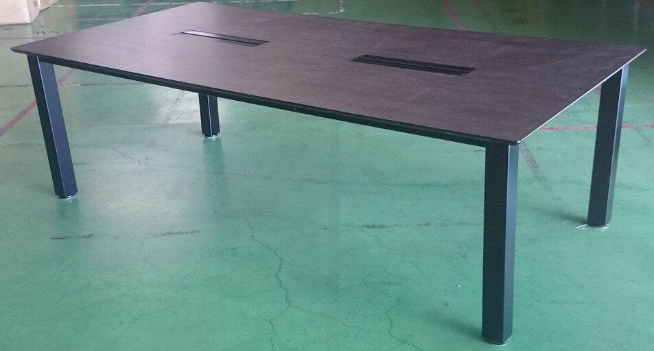 中古品 会議テーブルW2400,D1200ミリ【中古】【配達可能地域限定】