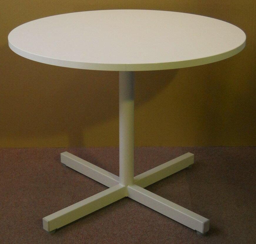 中古品 丸テーブルウチダ notioシリーズ直径900ミリ、高さ720ミリ【中古】