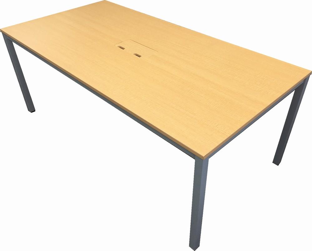 中古品 会議テーブルW1800,D900,H700ミリ【中古】