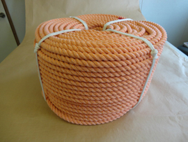 ロープ クレポリロープ 分径(直径)16mm お得な200m巻!