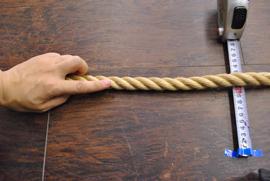 ロープ 麻ロープ 分径(直径)18mm お得な200m巻