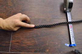 ロープ PE(ポリエチレン)ロープ黒色 分径(直径)10mm お得な200m巻!