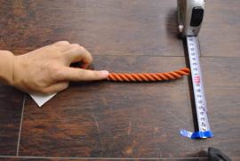 ロープ PE(ポリエチレン)ロープ金茶色 分径(直径)14mm お得な200m巻!
