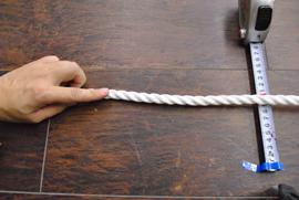 ロープ PPロープ(白) 分径(直径)12mm お得な200m巻