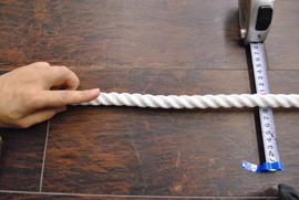 ロープ PPロープ(白) 分径(直径)16mm お得な200m巻