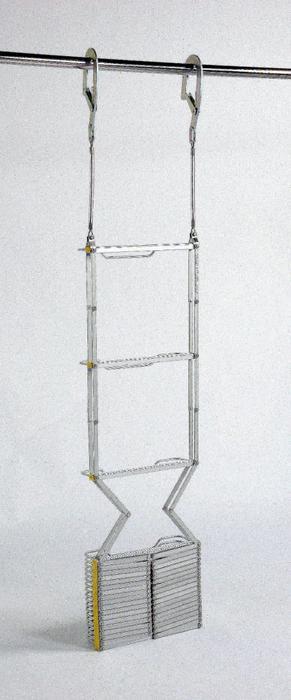 【送料無料】ORIRO アルミ製 避難はしご 7型 【2-3階用】