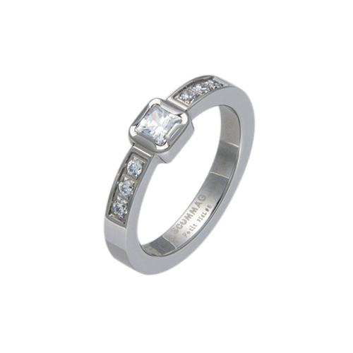 リング 指輪 レディース ステンレス シルバー ジルコニア アクセサリー ジュエリー プレゼント 贈り物 ギフト シンプル 母の日 3号 5号 7号 9号 11号