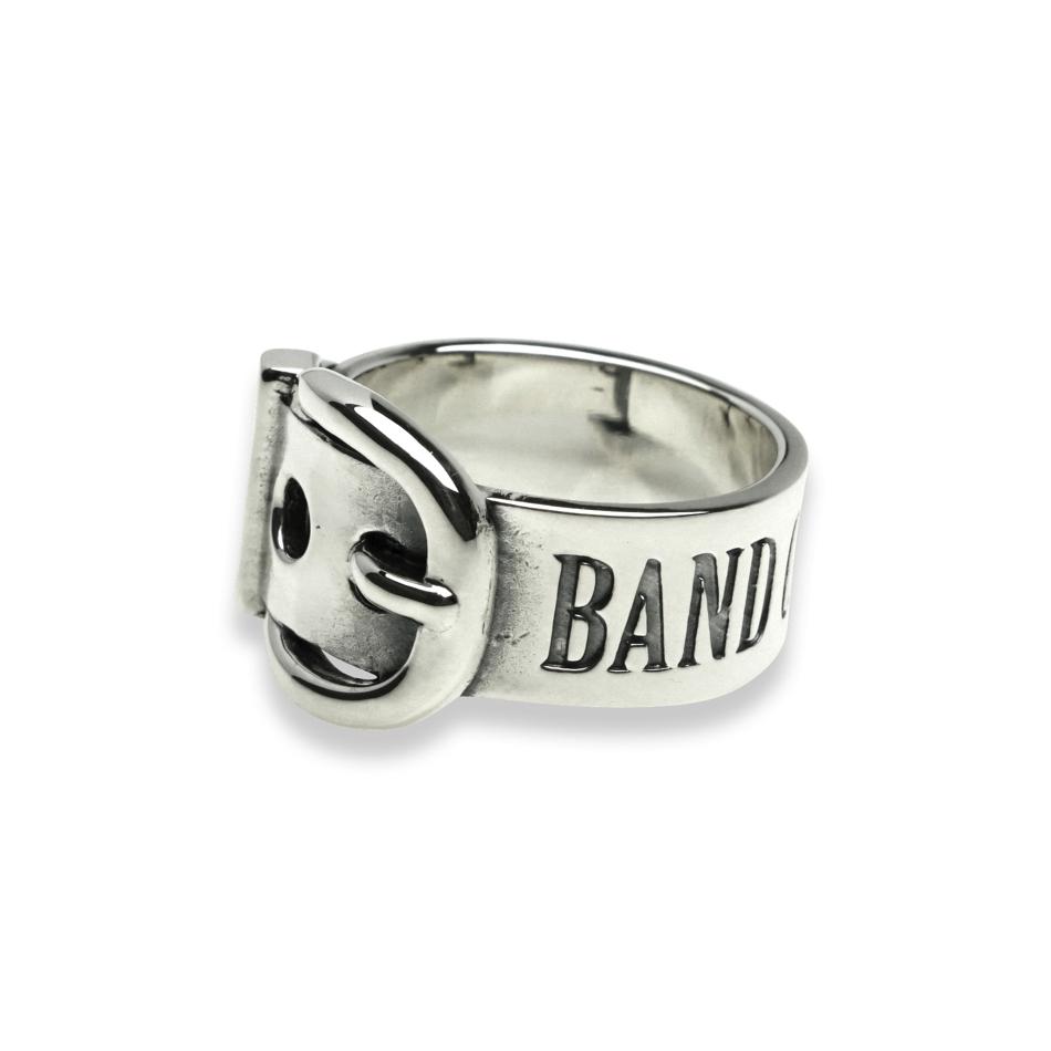 エムズコレクション シルバー リング 指輪 ベルト シルバー925 ブランド ペア メンズ レディース ペアリング 彼氏 おしゃれ プレゼント 就職祝い 入学祝い