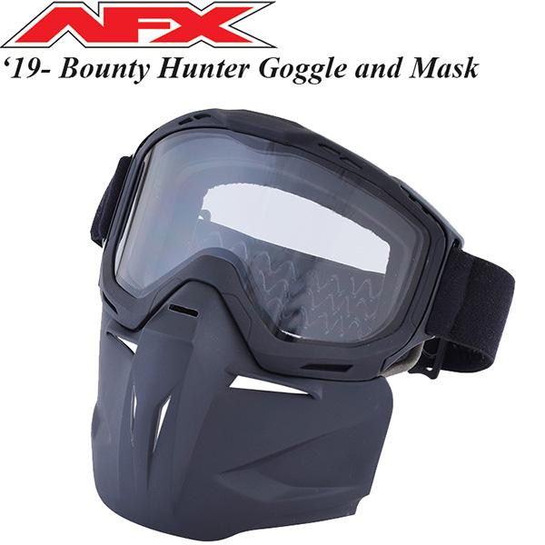 AFX ゴーグル オフロード用 Bounty Hunter Goggle フェイスマスク付