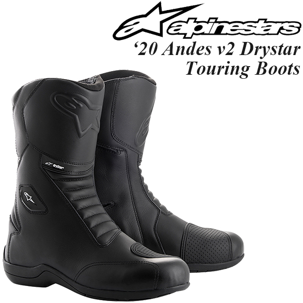 Alpinestars オンロードブーツ Andes v2 Drystar Touring Boots 2020年 最新モデル
