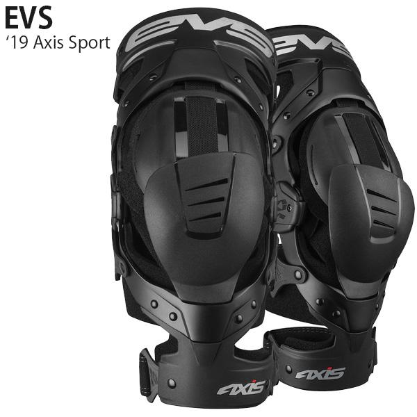 EVS ニーブレース Axis Sport 19年 モデル 左右ペア