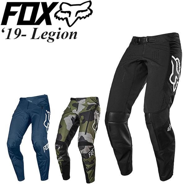 開拓者精神を満足させるモデル! FOX オフロード パンツ Legion 19-20年 モデル
