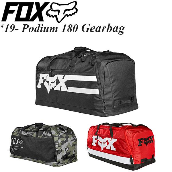 FOX ギアバッグ Podium 180 Gearbag 19-20年 モデル