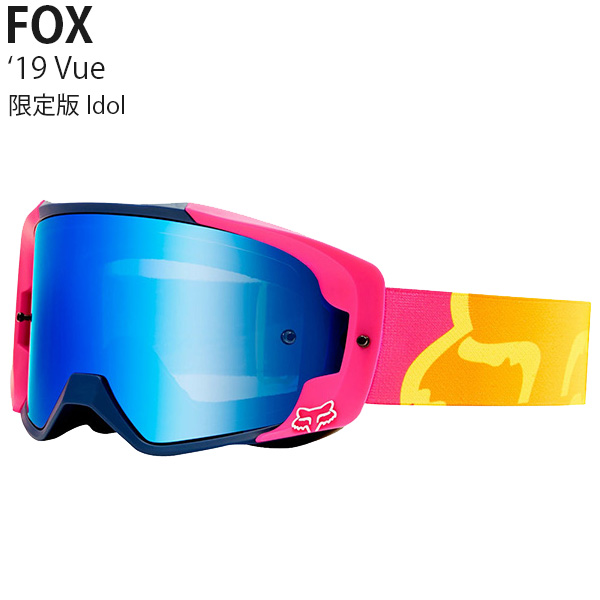 FOX ゴーグル MX用 限定版 Vue 2019年 モデル Idol 22808-922
