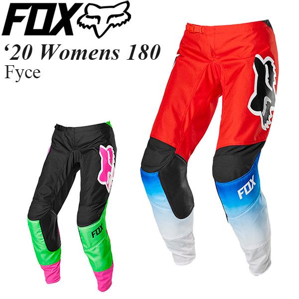 FOX オフロードパンツ 女性用 Womens 180 2020年 最新モデル Fyce