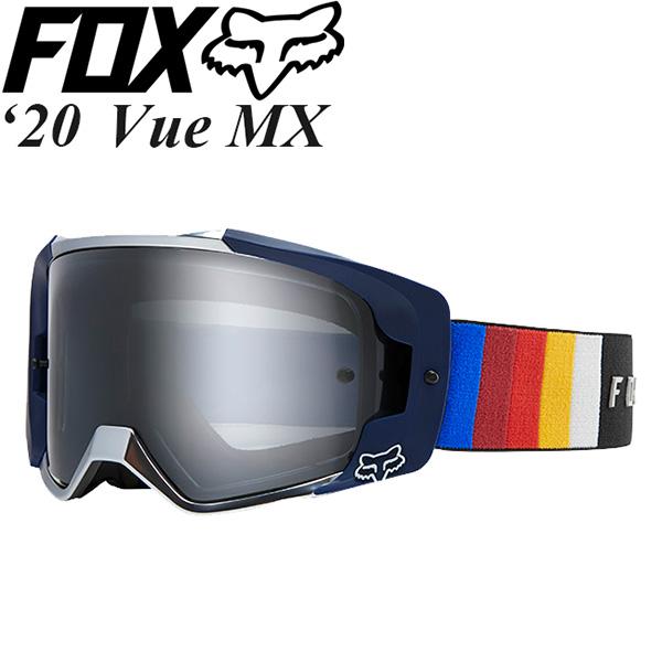 FOX ゴーグル MX用 Vue 2020年 最新モデル Vlar ミラーレンズ 23995-001