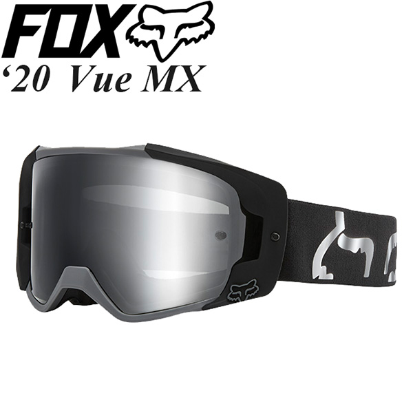 FOX ゴーグル MX用 Vue 2020年 最新モデル S ミラーレンズ 23997-001