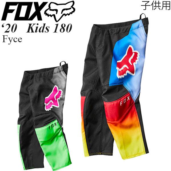 FOX オフロードパンツ キッズ用 Kids 180 2020年 最新モデル Fyce