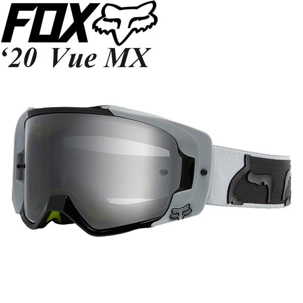 FOX ゴーグル MX用 Vue 2020年 最新モデル Dusc ミラーレンズ 24711-097