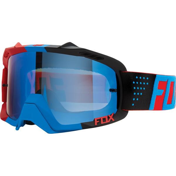 超特価!! FOX フォックス AIR Defence エア ディフェンス MX ゴーグル Libra リブラ ブルーレッド クリアレンズ 15359-901