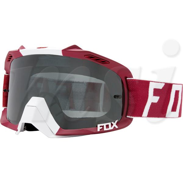 FOX フォックス AIR Defence エア ディフェンス MX ゴーグル Preest プリースト ダークレッド クロームスパークレンズ 19964-208