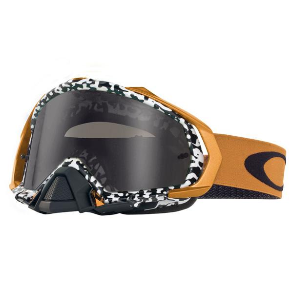 【値下げ特価】 Oakley MXゴーグル Mayhem Pro Viper Room ダークグレーレンズ OO7051-24