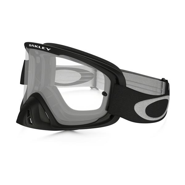 Oakley オークリー O Frame 2.0 Oフレーム2.0 MX ゴーグル w/ロールオフキット マットブラック クリアレンズ OO7068-19