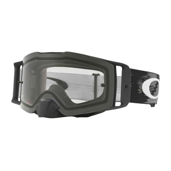 Oakley オークリー Front Line フロントライン MX ゴーグル Matte Black Speed マットブラックスピード クリアレンズ OO7087-01