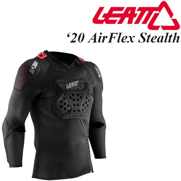 Leatt ボディプロテクター AirFlex Stealth 2020年 最新モデル