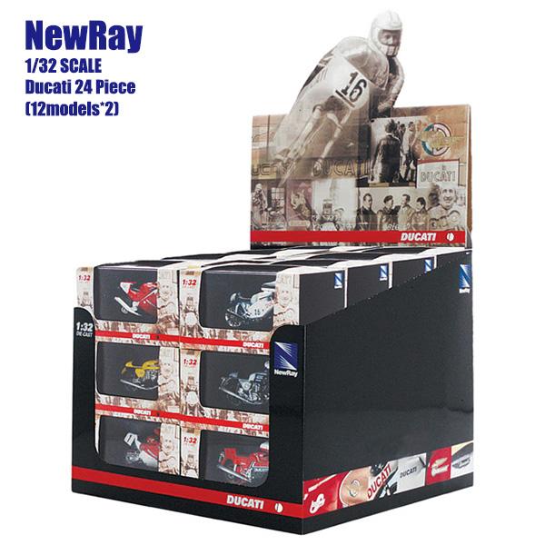NewRay 1/32 スケールモデル 24個セット Ducati ドゥカティ
