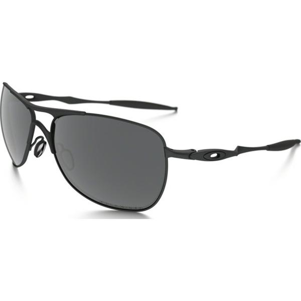 Oakley オークリー サングラス Titanium Crosshair チタニウムクロスヘア OO6014-02 【Pewter/Black Iridium Polarized】
