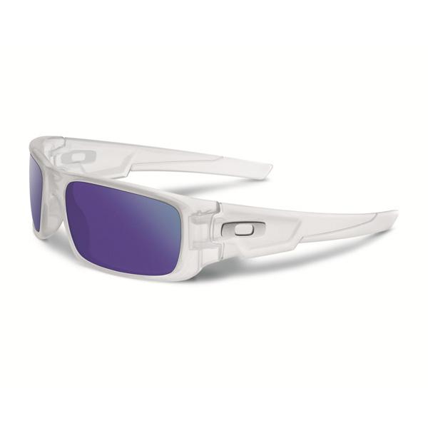 Oakley オークリー サングラス Crankshaft クランクシャフト OO9239-09 【Matte Clear/Violet Iridium Polarized】