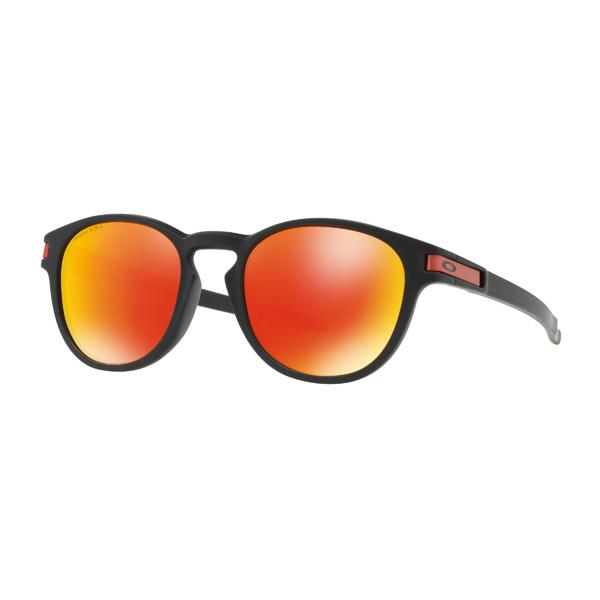 Oakley オークリー サングラス Latch ラッチ OO9349-1353 アジアンフィット 【Matte Black/Prizm Ruby】