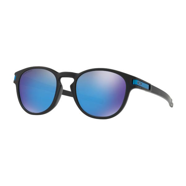 Oakley オークリー サングラス Latch ラッチ OO9349-1453 アジアンフィット 【Matte Black/Prizm Sapphire Iridium】