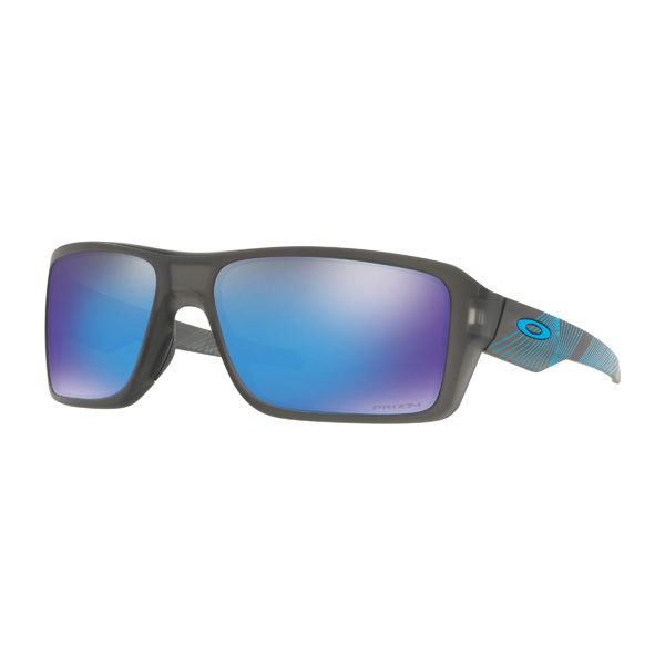 Oakley オークリー サングラス Double Edge ダブルエッジ Aero Grid Collection エアログリッドコレクション OO9380-2266 【Matte Gray Smoke/Prizm Sapphire Iridium】