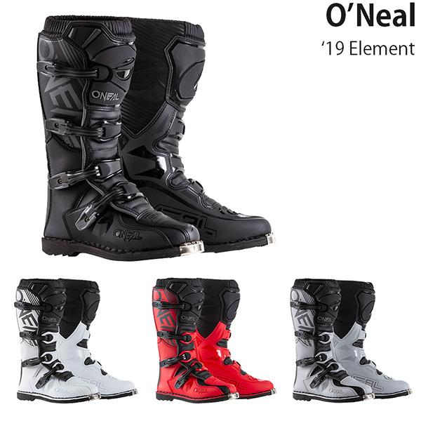 コスパに優れた人気エントリーモデル O'Neal ブーツ Element 再入荷 NEW 予約販売 2020-21年 モデル