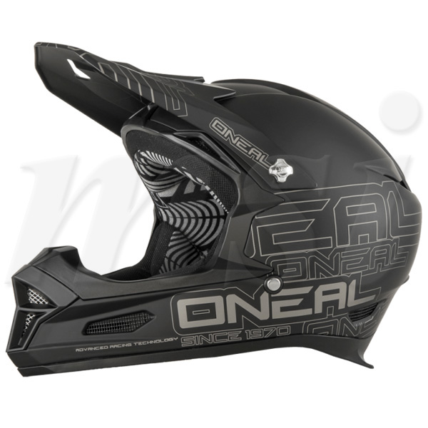 超特価!! O'Neal オニール 2018年 Fury RL II フューリーRL2 自転車用 ヘルメット Matte Black マットブラック