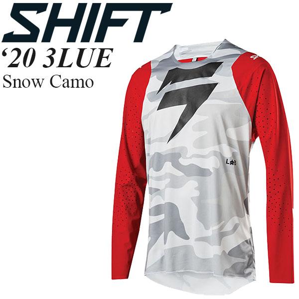 Shift オフロードジャージ 3LUE 2020年 最新モデル Snow Camo