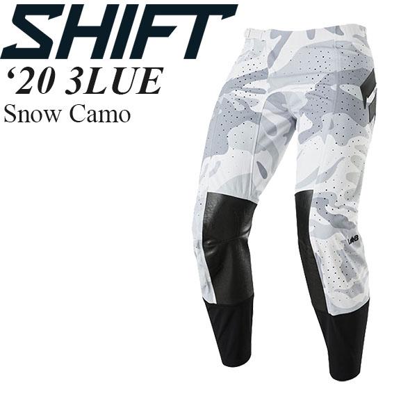 シフトの最上位、ハイエンドプレミアムモデル! Shift オフロードパンツ 3LUE 2020年 最新モデル Snow Camo