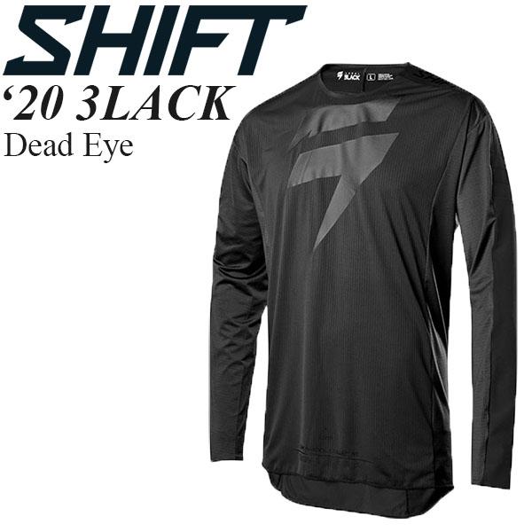 Shift オフロードジャージ 3LACK 2020年 最新モデル Dead Eye