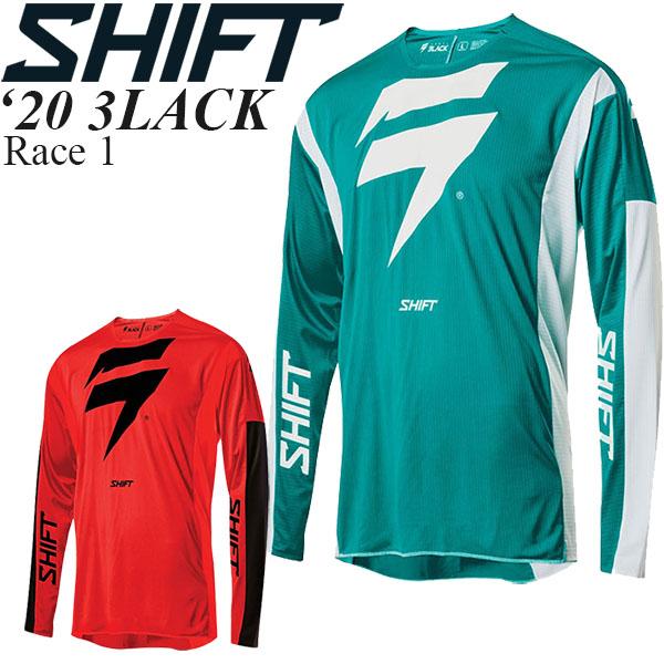 Shift オフロードジャージ 3LACK 2020年 最新モデル Race 1