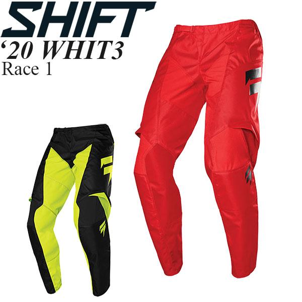 Shift オフロードパンツ WHIT3 2020年 最新モデル Race 1